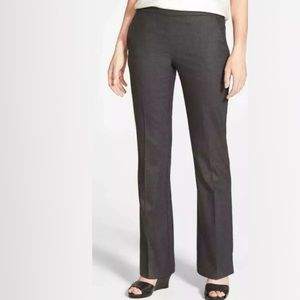 Eileen Fisher Stretch Wool Charcoal Grey Trousers